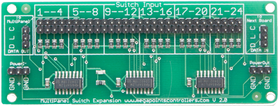 MultiPanel V2 Switch Expansion Board