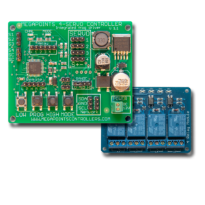 Servo 4R and relay board