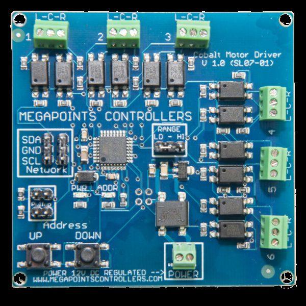 Cobalt digital driver board