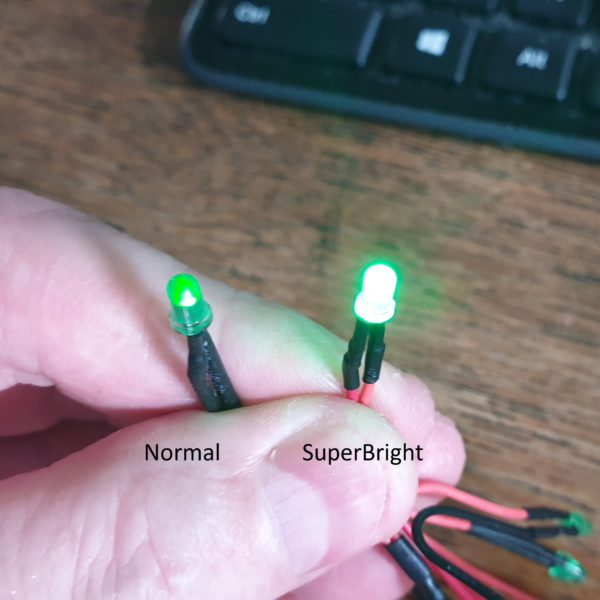SuperBright LED cable pack (Green/Green)