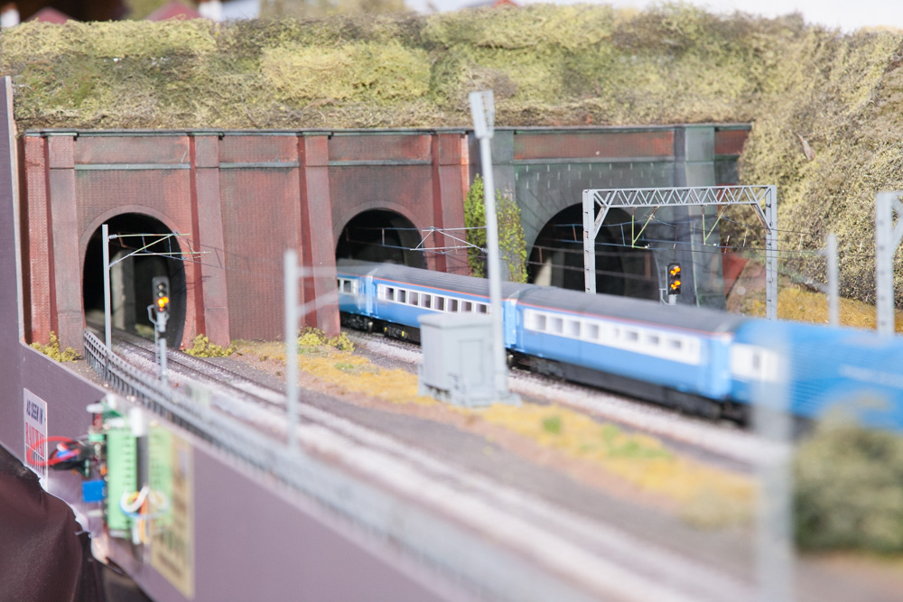 Pete Watermans layout at Chester Cathedral, summer 2021.