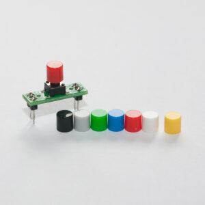 Coloured Button Caps